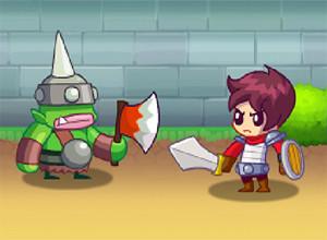 لعبة حراس القلعة الخضراء