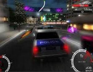 لعبة سيارة البوليس