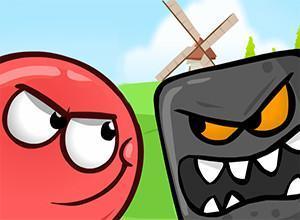 لعبة الكره الحمراء