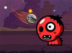 لعبة تفجير الوحش الاحمر