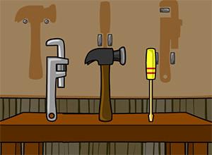 لعبة ترتيب ادوات الصيانة