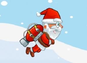 لعبة بابا نويل الطائر في كهف الجليد