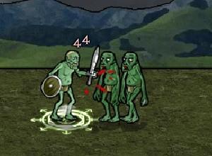 لعبة فارس الزومبي