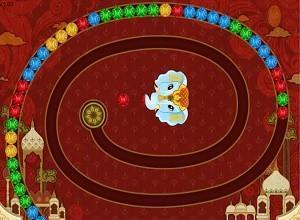 لعبة زوما الفيل